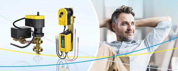 Eingesetzt wird eValveco zum automatischen, hydraulischen Abgleich im Voll- und Teillastbereich sowie für die Echtzeit-Durchflussregelung.
