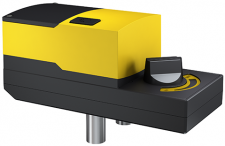 Rotary actuator with positioner