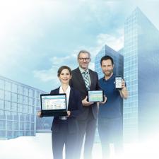 Webbasierte Gebäudeautomation für PC, Tablet und Smartphone