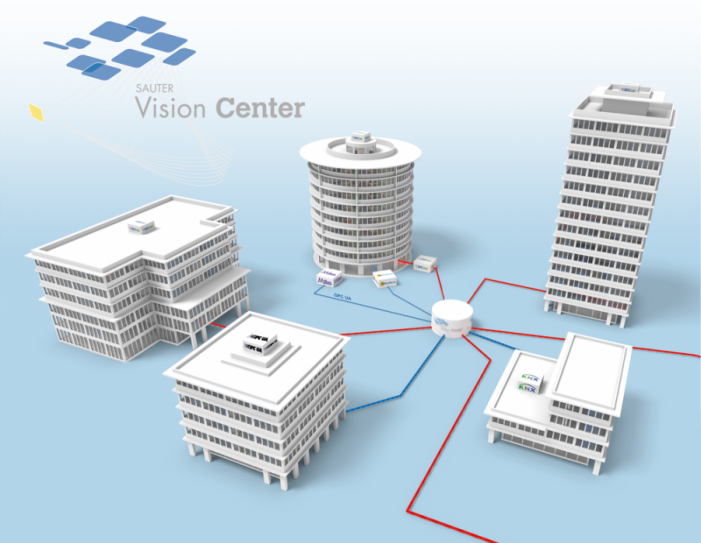 Sauter Vision Center convinces with technological progress in building automation. The Smart Building is becoming even smarter.