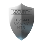 Security Shield IEC BACnet SC HTTPS TLC